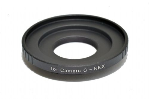 16mm Movie C Mount Lens to Sony NEX Mount Camera  NEX-EOSM Adapter Ring